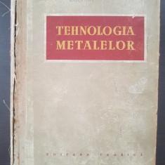 TEHNOLOGIA METALELOR - Dubinin, Jevtunov