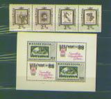 Ungaria 1962,65 Ziua marcii, neuzate MNH, Nestampilat
