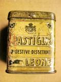 B280-I-Cutie Farmacie medicamente veche metal Pastiglie Leone Torino-Italia.