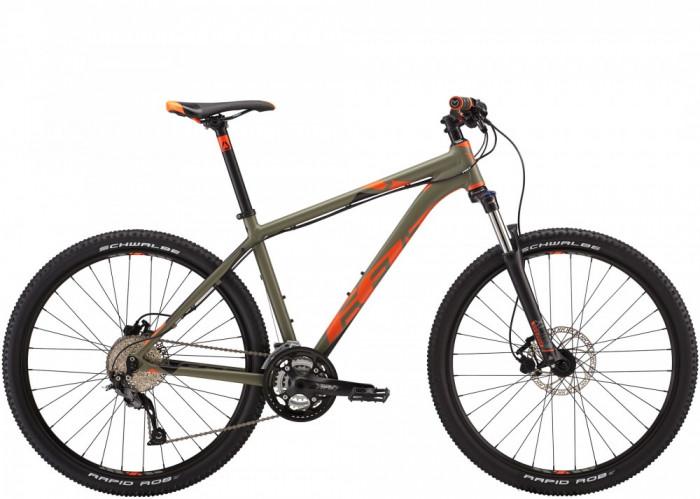 "Bicicleta Mtb 27.5 Felt 7 Seventy, Kaki/portocaliu, 16"" - 77016MB16"