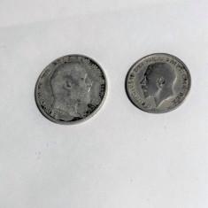 Banuti vechi din argint Monede Argint Anglia