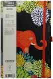 Bloc Notes Ivory Graphic, 240 pagini, patratele, motiv Animal Graphic, Herlitz