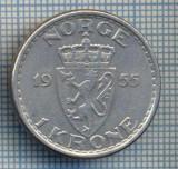 AX 410 MONEDA - NORVEGIA - 1 KRONE -ANUL 1955 -STAREA CARE SE VEDE, Europa