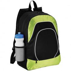 Rucsac Tableta, Everestus, BN, 600D poliester si ripstop, negru, verde, saculet de calatorie si eticheta bagaj incluse