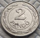 Moneda ISTORICA 2 PENGO - UNGARIA, anul 1941  *cod 445 d = Razboiul al II-lea