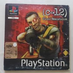 [PSX] C12 - Final Resistance - cd demo Playstation 1 PS1