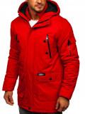 Cumpara ieftin Geacă de iarnă sport roșie Bolf HY827