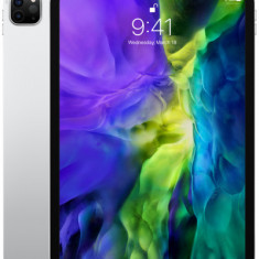 Tableta Apple iPad Pro 11inch Cellular (2020), Procesor Octa-Core, IPS LCD Capacitive touchscreen 11inch, 256GB Flash, 6GB, Camera Tripla 12+10+TOF 3D