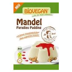 Budinca de Migdale Fara Gluten Bio Biovegan Rapunzel 49gr Cod: 24102r