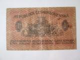 Cehoslovacia 1 Koruna 1919