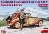 + Kit 1/35 Miniart 38008- German Passenger Car Type 170V (fara figurina) +