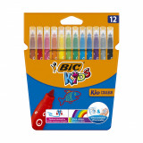 Set markere colorate ultralavabile Couleur Bic, P12