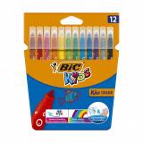 Set markere colorate ultralavabile Couleur Bic, P12