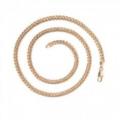 Lant Anebris unisex,dublu placat Aur 18K,28 grame,lungime 55cm