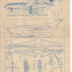 Prospect instructiuni macheta avion elicopter abtibilduri