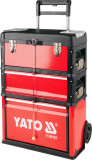 Dulap mobil pentru scule capacitate 45kg 3 compartimente YATO