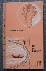 Constanța Buzea - De pe pământ (volum de debut, 1963) foto