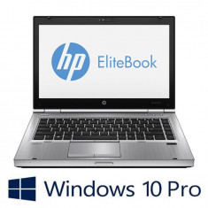 Laptop Refurbished HP EliteBook 8470p, i7-3520m, Win 10 Pro
