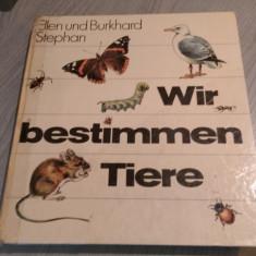 Wir bestimmen tiere – Ellen und Burkhard Stephan