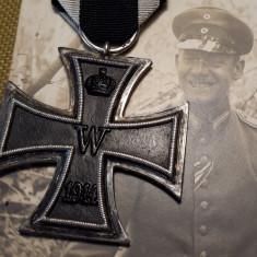 1914 Crucea de Fier Germania Primul Razboi Mondial WW1 medalie veche germana KW