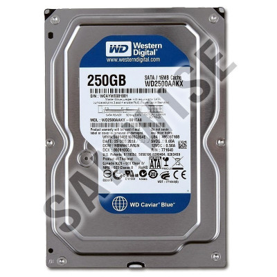 Hard Disk 250GB Western Digital Blue, SATA3, WD2500AAKX foto