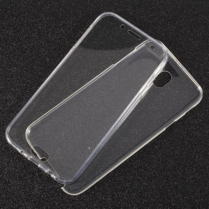 Husa Samsung S7 Edge Flippy Full Tpu 360 V2 Transparent