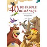 Carte 40 de fabule romanesti, Editura DPH