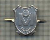 Y 1650 INSIGNA - MILITARA -SEMN DE ARMA -MILITIE -RSR  -PENTRU COLECTIONARI