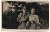 Fotografie din Primul Război Mondial - soldați în timpul armatei - 1910/1920
