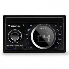 Auna Stereo auto MD-210 BT RDS Bluetooth FM USB SD AUX MP3 microfon 2-DIN 4x75W
