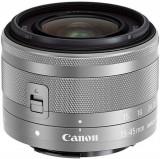 Obiectiv Foto Canon EF-M 15-45mm f/3.5-6.3 IS STM (Argintiu)