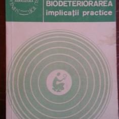 Biodeteriorarea implicatii practice – Valeria Barbu