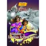 Aladdin si lampa fermecata - Povesti bilingve engleza - romana
