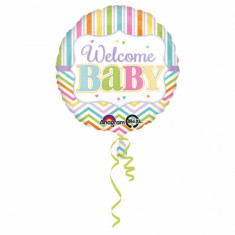 Balon folie 43cm Welcome BABY