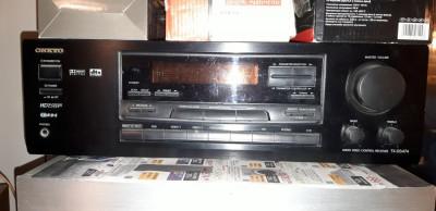 Amplituner receiver dolby digital/ DTS Onkyo , Denon si JVC prologic foto