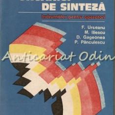 Coloranti Organici De Sinteza - F. Urseanu, M. Iliescu, D. Gageonea etc.