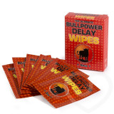 6 Servetele Anti-Ejaculare Bull Power Wipes Delay