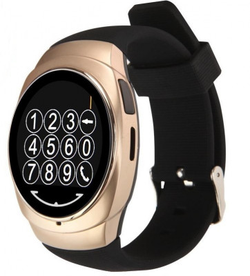 Resigilat! Ceas Smartwatch iUni Classic O100, BT, LCD 1.3 Inch, Camera, Gold foto
