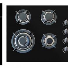 Pachet Cuptor electric + Plita + Hota Pyramis Elegant Deco Touch Black Glass