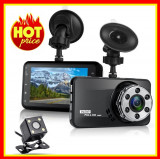 Camera Video Auto Fata Spate Dubla Camera Actiune  HD1080P Camera DVR Auto