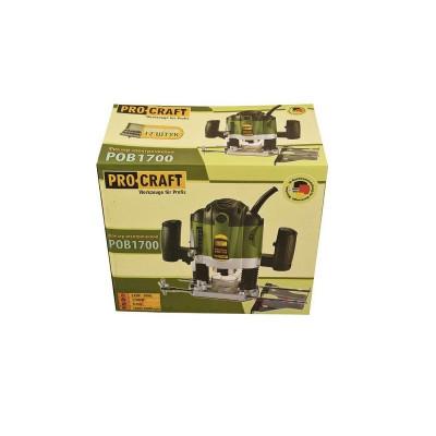 Freza pentru lemn electrica ProCraft POB1700, 1700W, adancime 50 mm foto