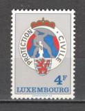 Luxemburg.1975 15 ani Protectia Civila  SL.776, Nestampilat
