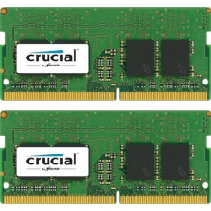 Memorie laptop Crucial 32GB DDR4 2400 MHz CL17 Dual Rank x8 Dual Channel Kit foto