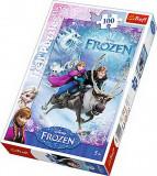 Puzzle clasic pentru copii - Salvarea Anei Frozen 100 piese