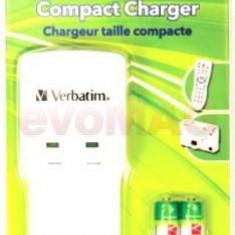 Incarcator Verbatim Baterii Compact pentru NiMH de tip AA si AAA