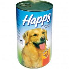 Happy Dog hrană umedă câini cu Pui 4x415 gr, Umeda