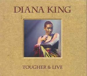 CD Diana King – Tougher & Live, original, hip-hop foto