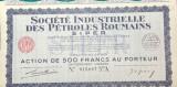 Actiuni Societatea Industriala de Petrol 1943 (Franceza)