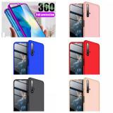 Cumpara ieftin Bumper / Husa 360° fata + spate pentru Huawei Nova 5T / Honor 20, Alt model telefon Huawei, Plastic, Carcasa