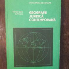 GEOGRAFIE JURIDICA CONTEMPORANA-VICTOR DAN ZLATESCU